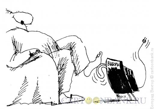 Карикатура: Ласковый и нежный зверь, Богорад Виктор