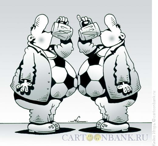 Карикатура: За футбол, Кийко Игорь