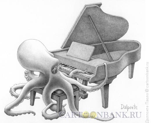 Карикатура: шопен, Далпонте Паоло