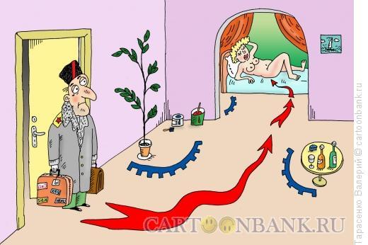 Карикатура: Марш-бросок, Тарасенко Валерий