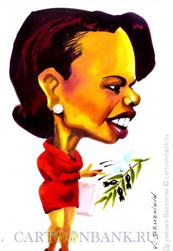 Карикатура: Кондолиза Райз, Дружинин Валентин