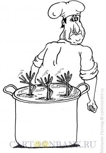 Карикатура: Синхронное плавание, Мельник Леонид