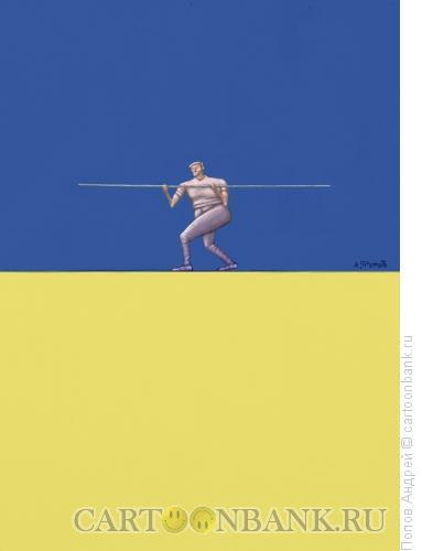 Карикатура: к событиям В Украине, Попов Андрей