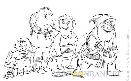 Карикатура: Лошадиные подарки, Смагин Максим