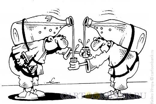 Карикатура: Единоборство по-русски, Кийко Игорь