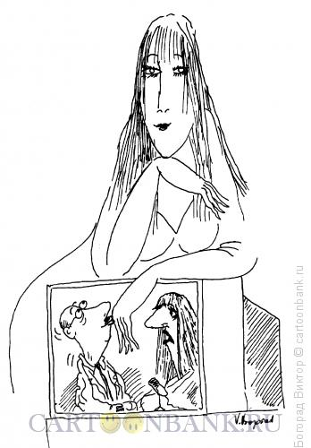 Карикатура: Целую ручку!, Богорад Виктор