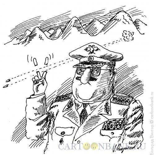 Карикатура: Отстрелянные пальцы, Богорад Виктор