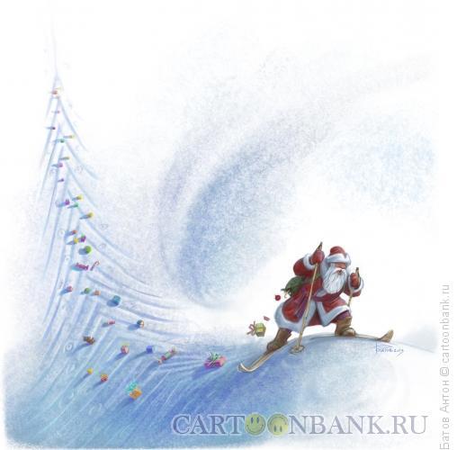Карикатура: ёлочкой, Батов Антон