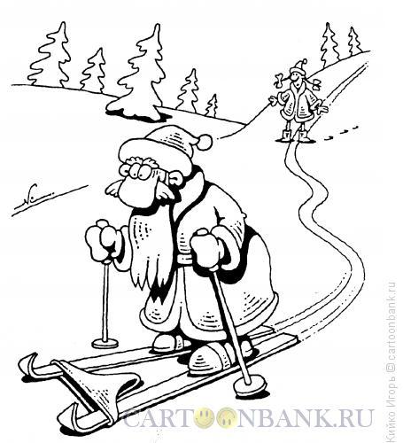 Карикатура: Фокус-покус, Кийко Игорь