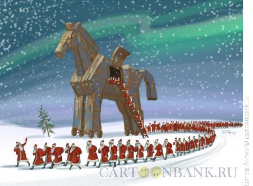 Карикатура: нашествие, Батов Антон