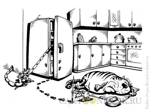 Карикатура: Подстава, Кийко Игорь