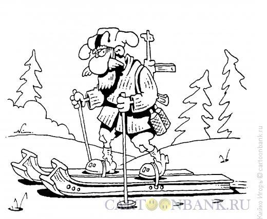 Карикатура: Стальной характер, Кийко Игорь