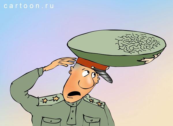 Карикатура: Фуражка, Зудин Александр