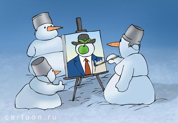 Карикатура: Портрет, Зудин Александр