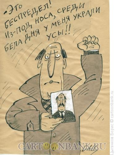 Карикатура: беспредел, Цыганков Борис