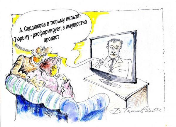 Карикатура: Нельзя, Владимир Тихонов