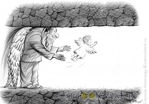 Карикатура: Первый полёт, Сергеев Александр