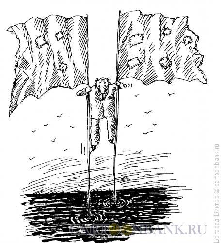 Карикатура: Ходули, Богорад Виктор