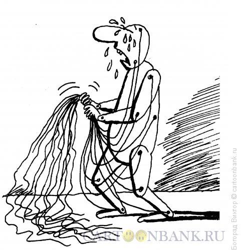 Карикатура: Плач по прошлому, Богорад Виктор
