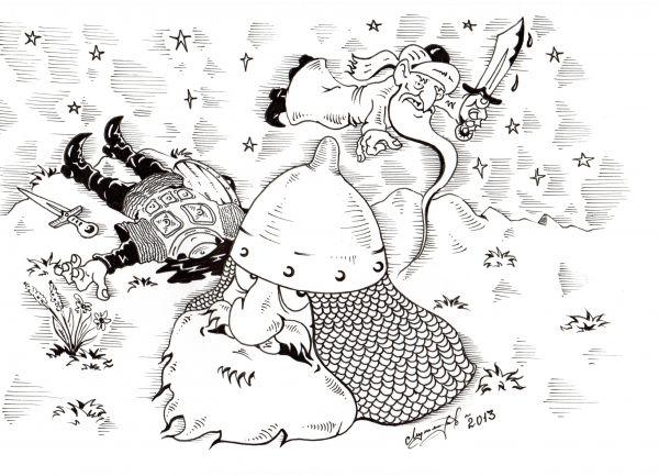 Карикатура: Толерантность., Константин Мухоморов