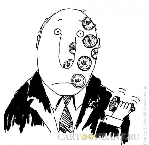 Карикатура: Проштампованный, Богорад Виктор