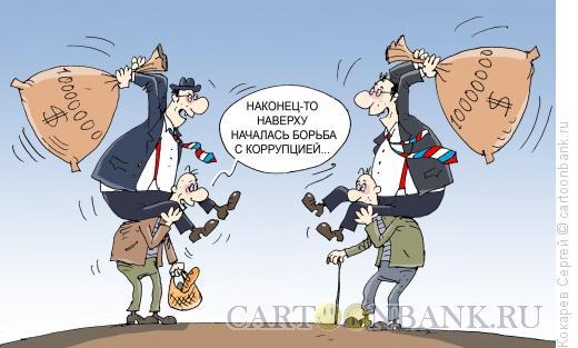Карикатура: наши сверху, Кокарев Сергей