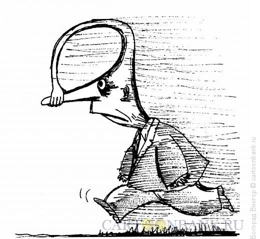 Карикатура: Нос, Богорад Виктор