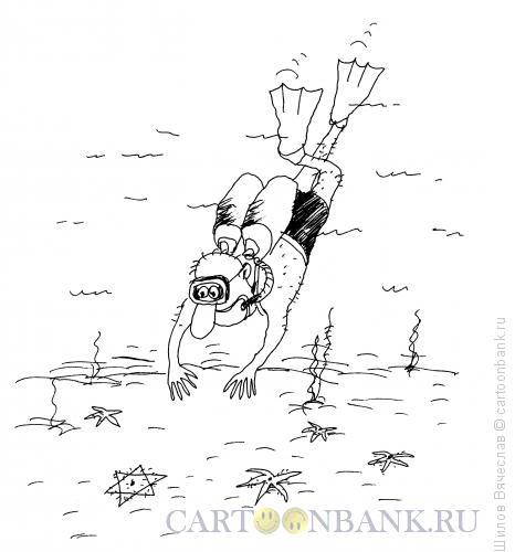 Карикатура: Морская звезда, Шилов Вячеслав