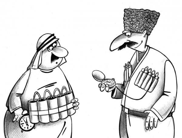 Карикатура: мода, Сергей Корсун