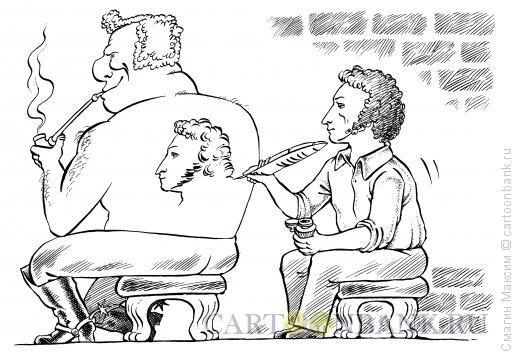 Карикатура: Татуировка, Смагин Максим