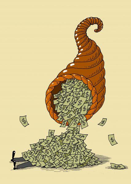 Рисунки денег смешные