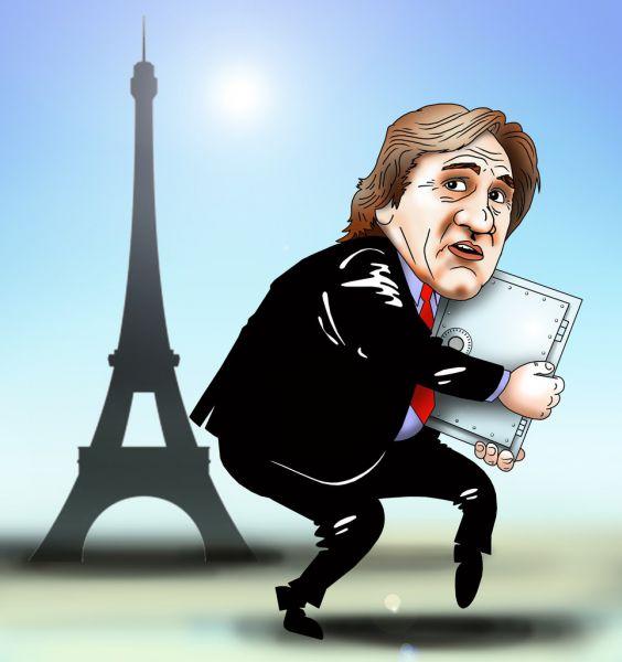 Карикатура: Подальше положишь, поближе возьмешь, Сергей Корсун