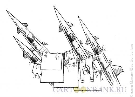 Карикатура: Зенитная сушилка, Смагин Максим
