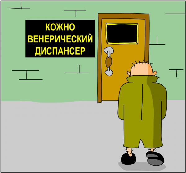 Карикатура: КВД, Дмитрий Бандура
