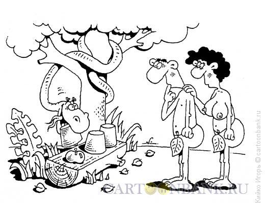 Карикатура: Райский шарик-малик, Кийко Игорь