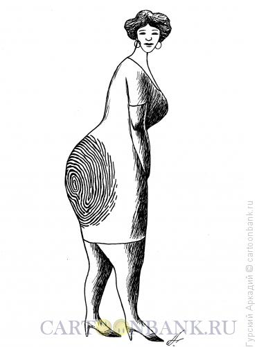 Карикатура: отпечаток пальца, Гурский Аркадий