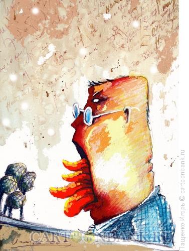 Карикатура: оратор, Пащенко Игорь