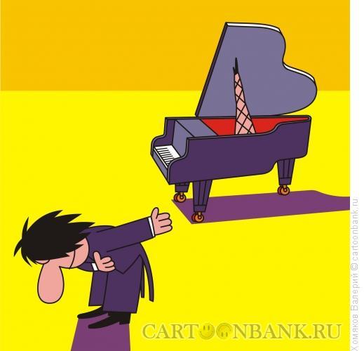 Карикатура: Концерт классической музыки, Хомяков Валерий