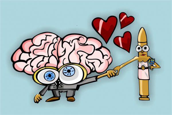 Карикатура: Любовь зла, somnambula