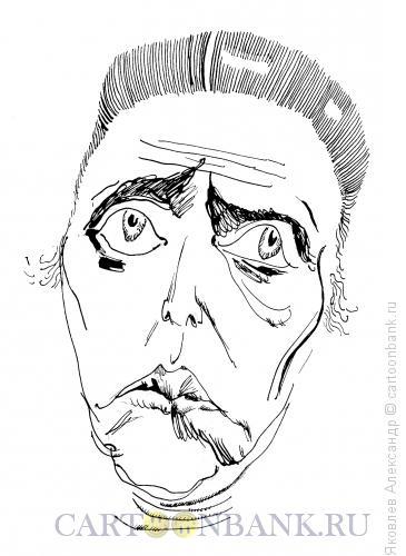 Карикатура: Кристофер Уокен, Яковлев Александр