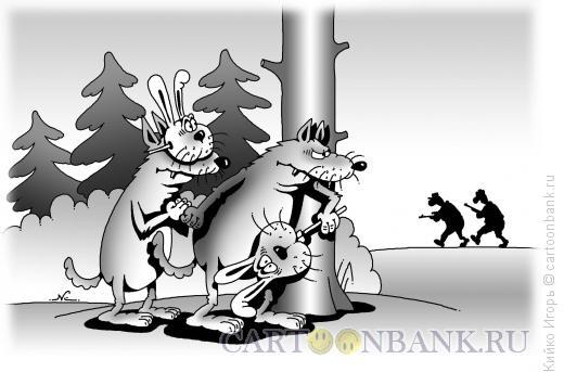 Карикатура: Маскировка, Кийко Игорь