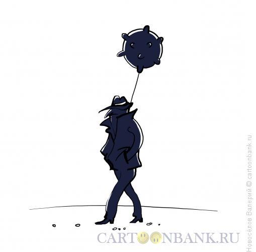 Карикатура: террорист, Новосёлов Валерий