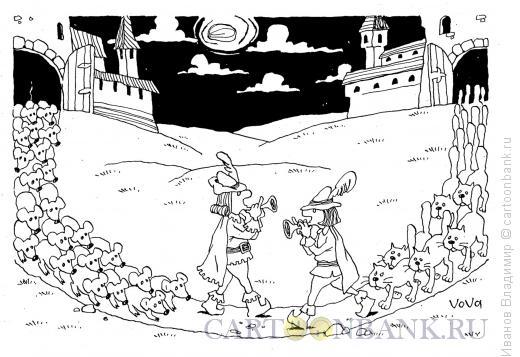 Карикатура: Новая сказка, Иванов Владимир