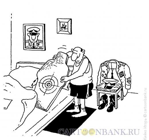 Карикатура: Спокойной ночи, Кийко Игорь