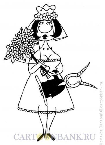 Карикатура: Брак по расчету, Хомяков Валерий