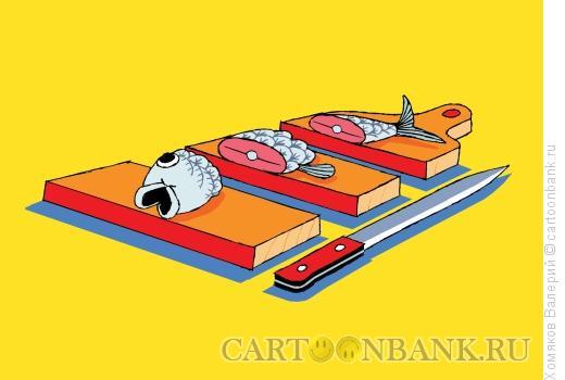 Карикатура: Кушать сильно хочется, Хомяков Валерий