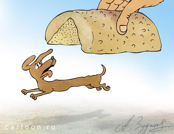 Карикатура: Хотдог, Зудин Александр