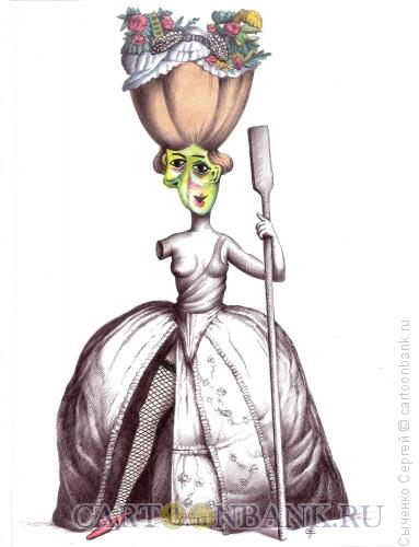 Карикатура: Красота, Сыченко Сергей