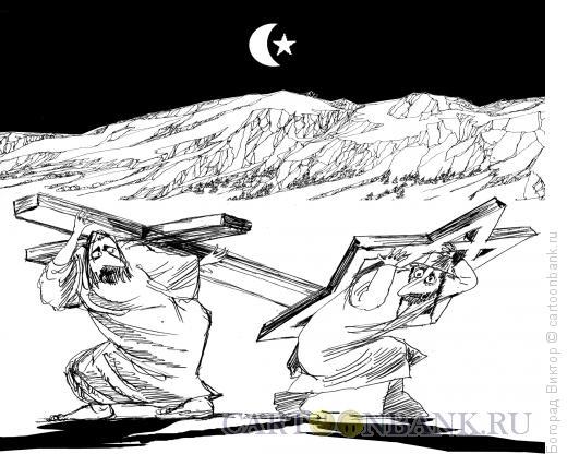 Карикатура: Ноши, Богорад Виктор