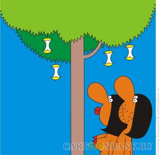 Карикатура: Дерево Познания, Хомяков Валерий